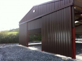 agri steel shed