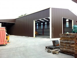 exterior cladding steel building