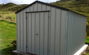 ready assembled steel shed