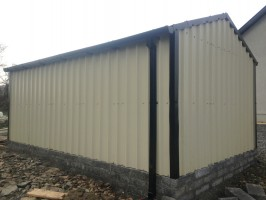 steel shed back