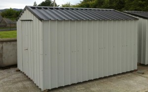 steel shed delivery ireland