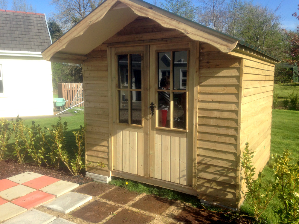 buildings wooden gallery shed kilmarnock ayrshire sheds garden